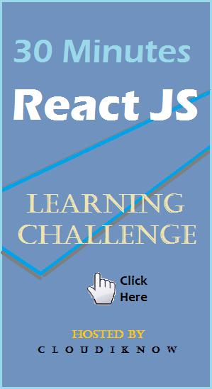 CloudiKnow ReactJS challenge!